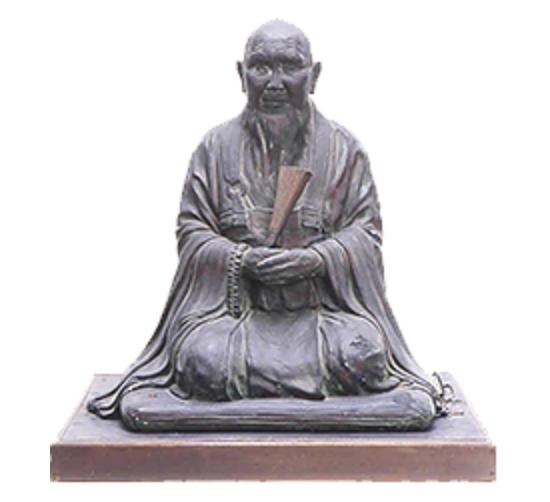 「伊藤和四五郎」の座像