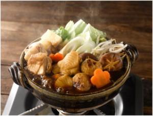 三和の純鶏名古屋コーチン味噌鍋スープ調理イメージ
