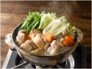 三和の純鶏名古屋コーチン鶏だし鍋スープ調理イメージ