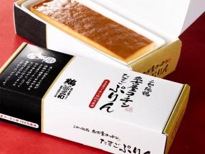 三和の純鶏名古屋コーチンたまごぷりん - 名古屋コーチン卵を100%使用したプリンです
