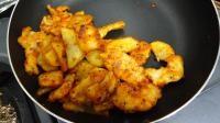レシピ⑤ - 鶏チリ風 鶏むね肉とじゃがいものチリソース炒め