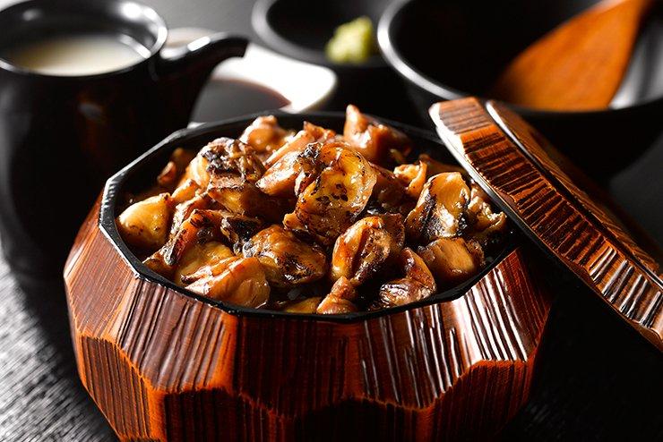 三和の純鶏名古屋コーチン鷄まぶし