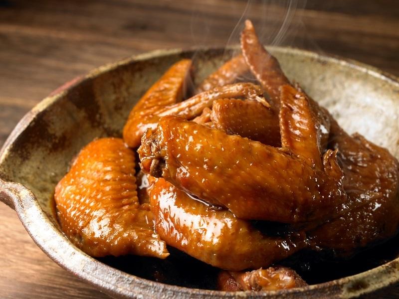 三和の純鶏名古屋コーチン手羽煮(醤油)