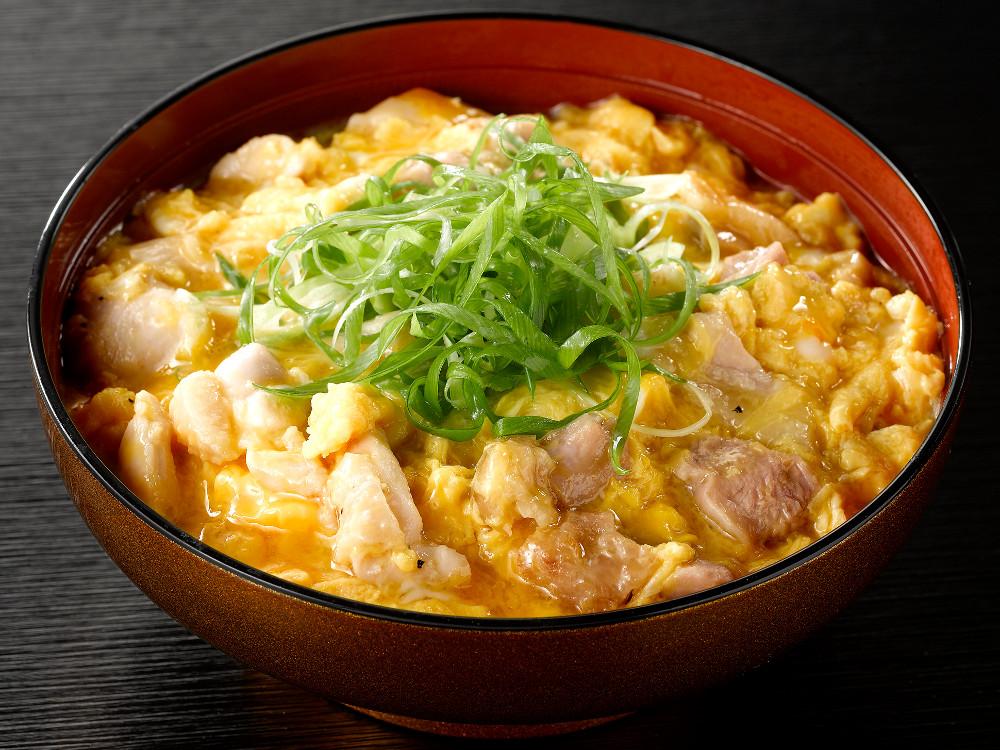 九条ねぎしお麹親子丼@鶏三和、伊藤和四五郎商店