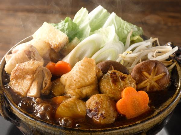 三和の純鶏名古屋コーチン 鶏だし味噌鍋スープ - 調理イメージ