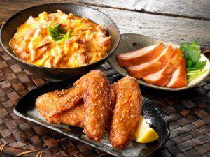 さんわの鶏料理