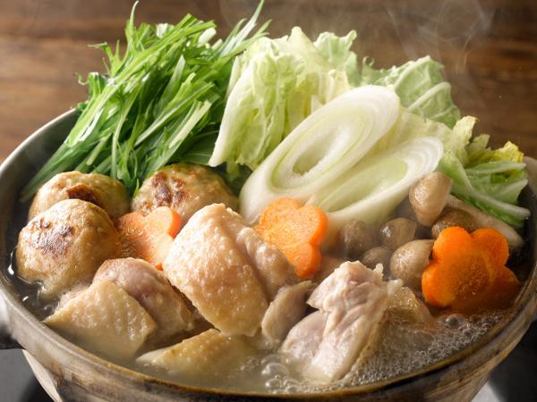 三和の純鶏名古屋コーチン 鶏だし塩鍋スープ - 調理イメージ
