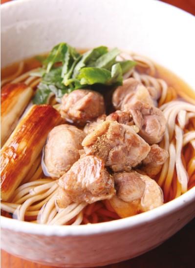 鴨蕎麦(調理イメージ)