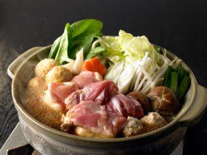 三和の純鶏名古屋コーチン味噌鍋