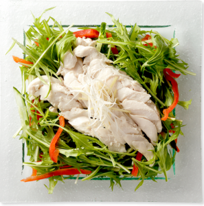 サラダチキン調理イメージ