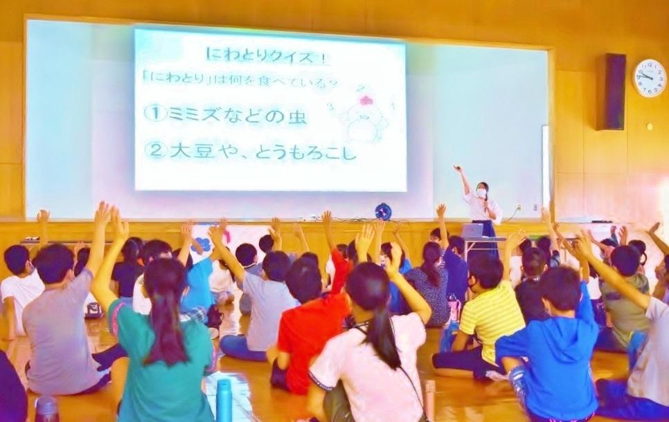 矢田小学校食育