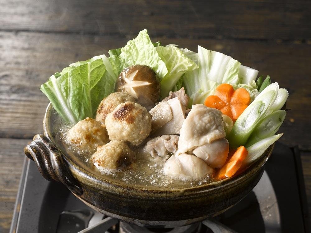 三和の純鶏名古屋コーチン 鶏だし塩鍋スープ