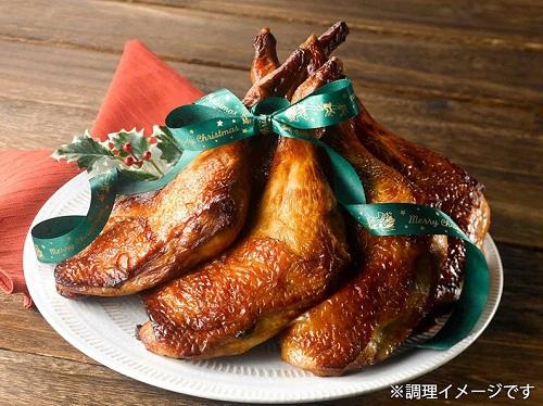 香草美水鶏もも焼き(調理イメージ)