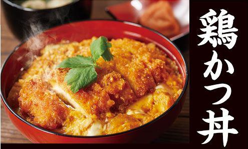 鶏かつ丼(調理イメージ)